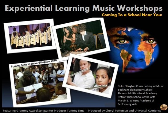 Tommy Sims Experiential Learning Music Workshops