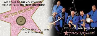 Motown Funk Brothers Get Star on Hollywood Walk of Fame
