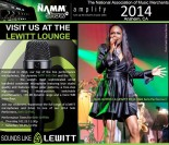 Beth Griffith PR LEWITT Solo Performer NAMM 2014