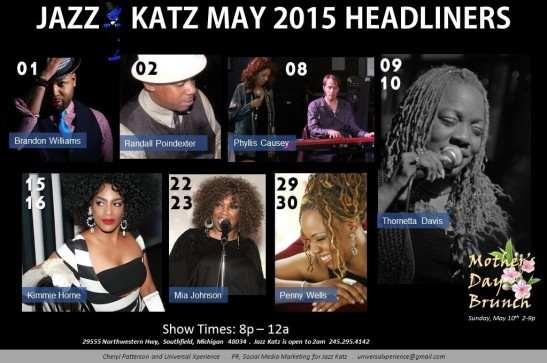 May Weekend Headliners