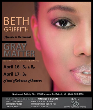 Beth Appears in the Musical Gray Matter